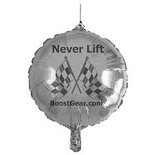 Never Lift - White Shirt - BoostGear Balloon