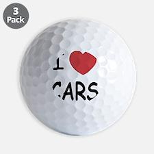 LOVECARS_01 Golf Ball