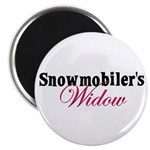 Widow in Snow Magnet