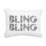 Bling Rectangle Canvas Pillows