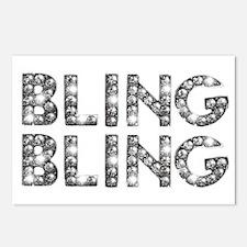 bling-bling-tee Postcards (Package of 8)