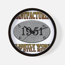 1951 Wall Clock
