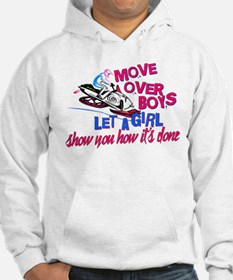Move Over Boys Hoodie