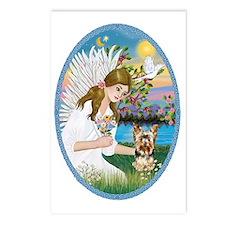 Angel Love - Yorkshire Te Postcards (Package of 8)
