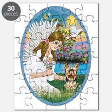 Angel Love - Yorkshire Terrier #17 Puzzle