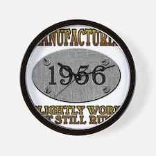 1956 Wall Clock