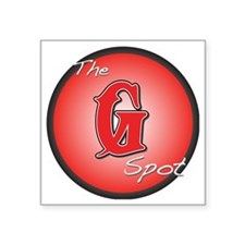 "G-spot Square Sticker 3"" x 3"""