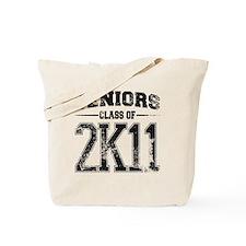 2k11 black Tote Bag