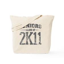2k11_grey Tote Bag
