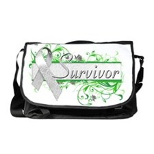 Survivor Floral Grey Messenger Bag