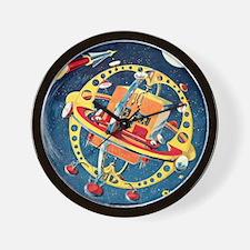 Challenger Space Rocket Wall Clock