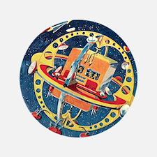 "Challenger Space Rocket 3.5"" Button"