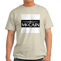 JOHN MCCAIN PRESIDENT 2008 Ash Grey T-Shirt