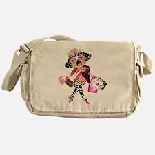 I Love New Yorkie Messenger Bag