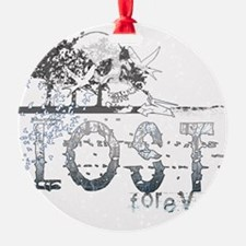 lost forever for black shirts Ornament