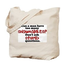 One too Many Stupid Questions Tote Bag