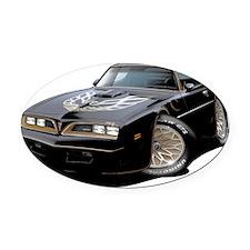 1978 Trans Am Black Oval Car Magnet