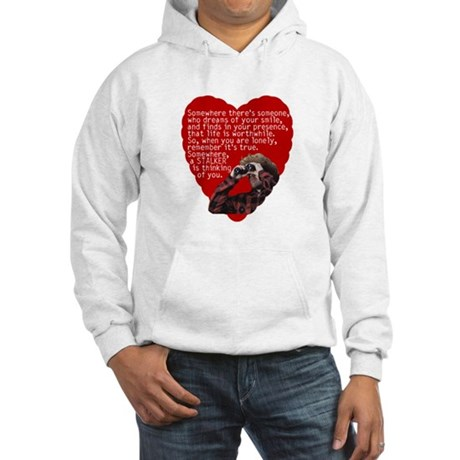 Stalker Anti-Valentine Hooded Sweatshirt