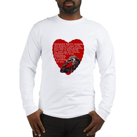 Stalker Anti-Valentine Long Sleeve T-Shirt