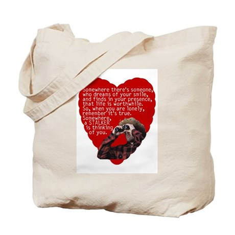 Stalker Anti-Valentine Tote Bag