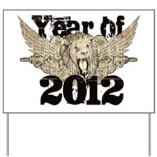 Year of 2012 Yard Sign