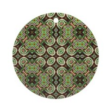 051910ai Round Ornament