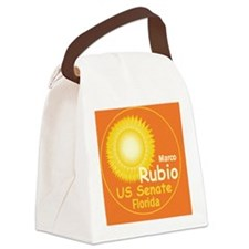 Rubio2 B Card up Canvas Lunch Bag