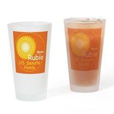 Rubio2 B Card up Drinking Glass