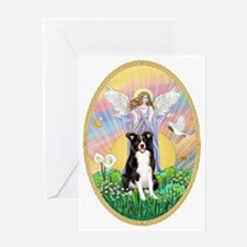 Blessings - Border Collie Greeting Card