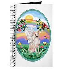 Rainbow Life - Italian Greyhound (fawn) Journal