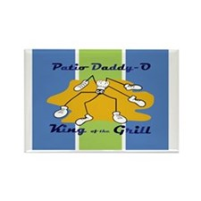 patio-daddy_o_notecard Rectangle Magnet
