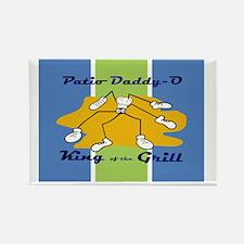 patio-daddy_o_notecard Rectangle Magnet
