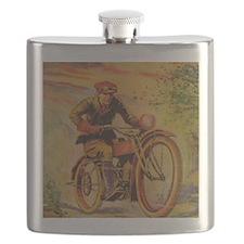 Tom Swift Motorcycle Flask