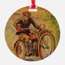 Tom Swift Motorcycle Ornament