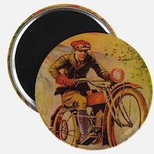 Tom Swift Motorcycle Magnet