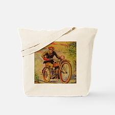 Tom Swift Motorcycle Tote Bag
