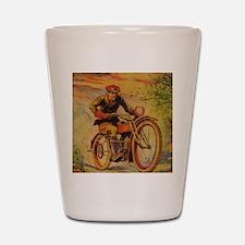 Tom Swift Motorcycle Shot Glass