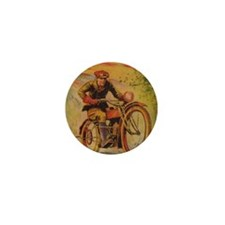 Tom Swift Motorcycle Mini Button
