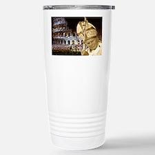 pjpii_deliversBlessing_print Travel Mug