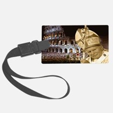 pjpii_deliversBlessing_print Luggage Tag