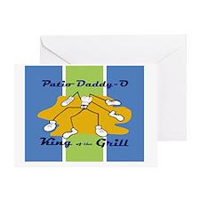 patio-daddy_o_Mousepad Greeting Card