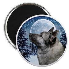 Norwegian Elkhound Magnet
