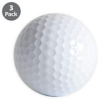 Im Lost Blk Golf Ball