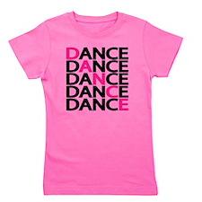 dance-times-five-2-color Girl's Tee