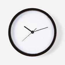 Lost Univ -dk Wall Clock