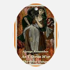 irish women b Oval Ornament