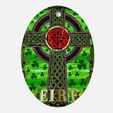 CELTICCROSS-1 Oval Ornament