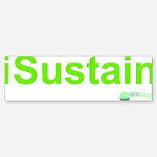 2-i Sustain Bumper Bumper Sticker