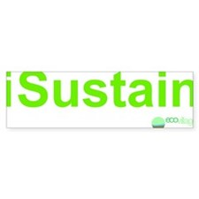 2-i Sustain Bumper Sticker