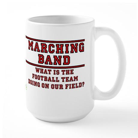 Football Team on Our Field Large Mug